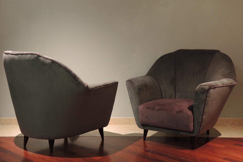 Mobili Anni 40 : Ico parisi salotto art decÒ galuchat mobili e modernariato