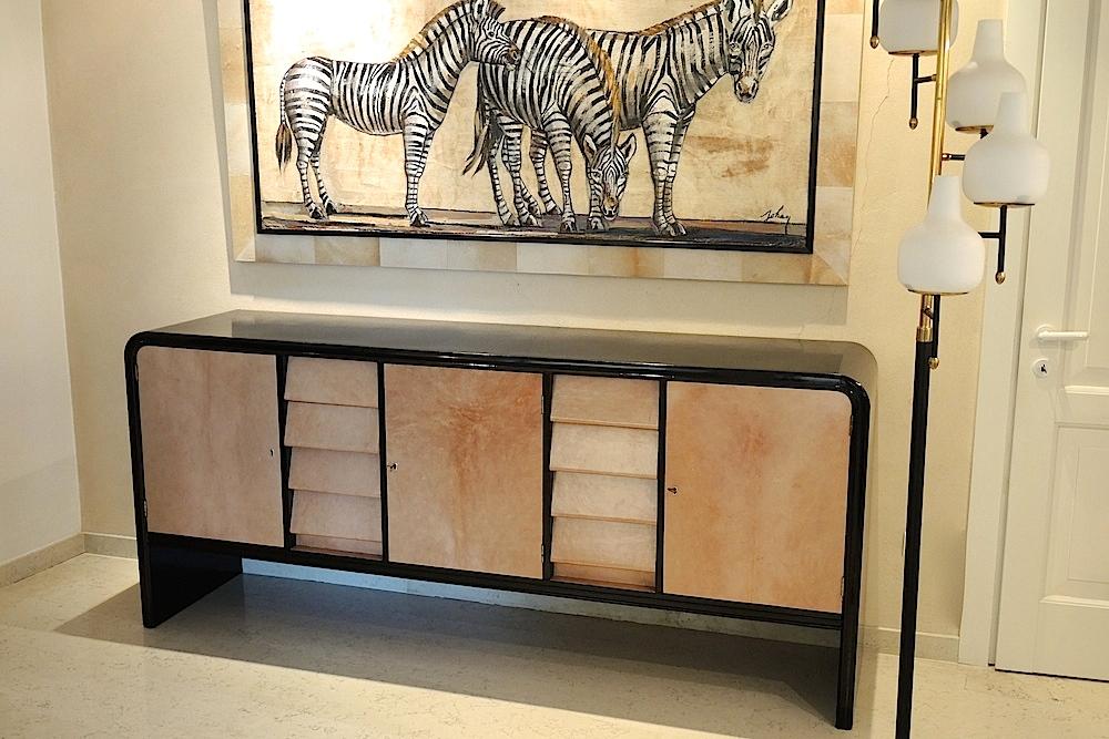 Mobili Anni 40 : Credenza anni art decÒ galuchat mobili e modernariato